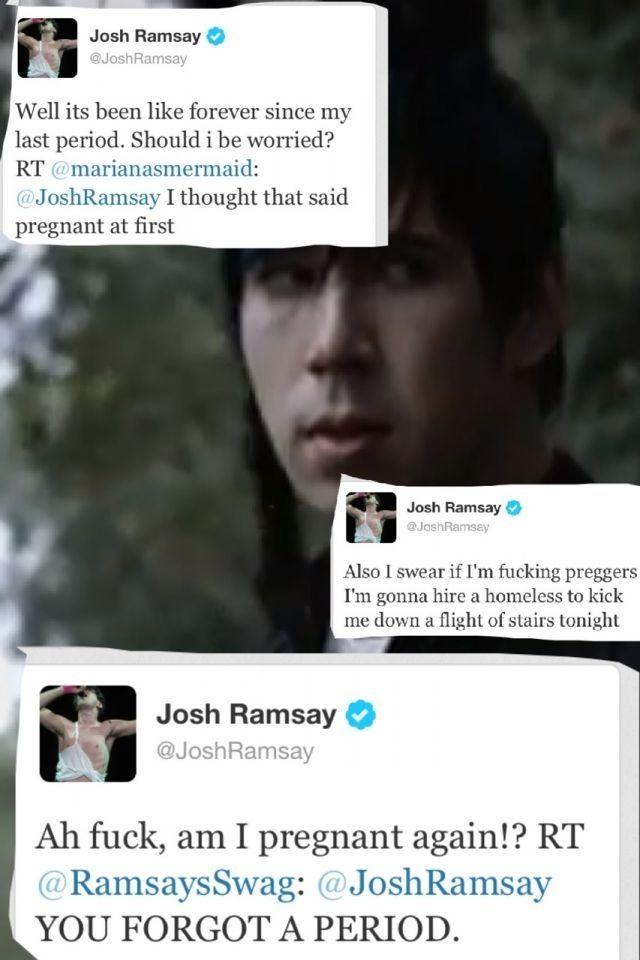 Josh is preggers again