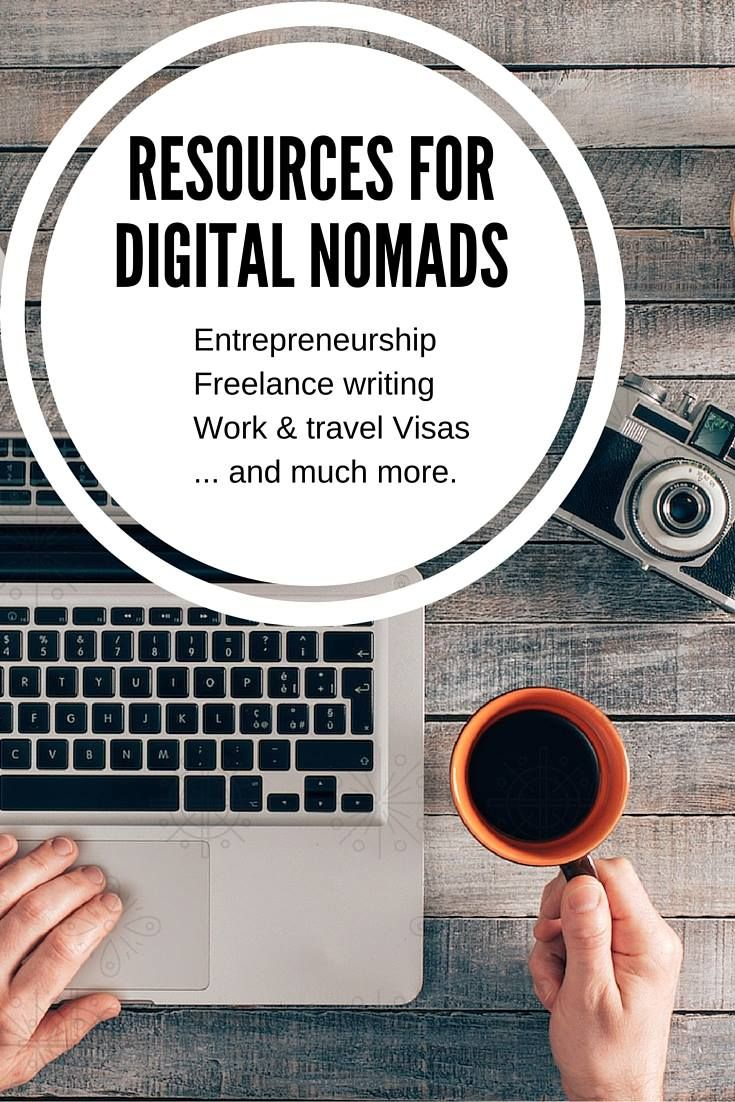 Resources for Digital Nomads and Freelance WritersAerial Jensen