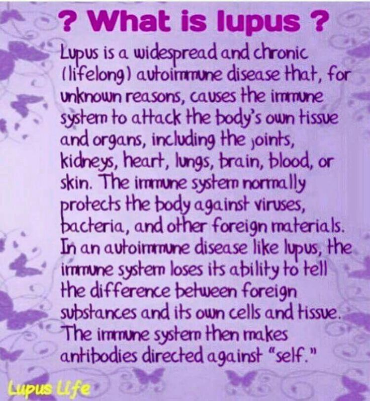 Lupus in a nutshell
