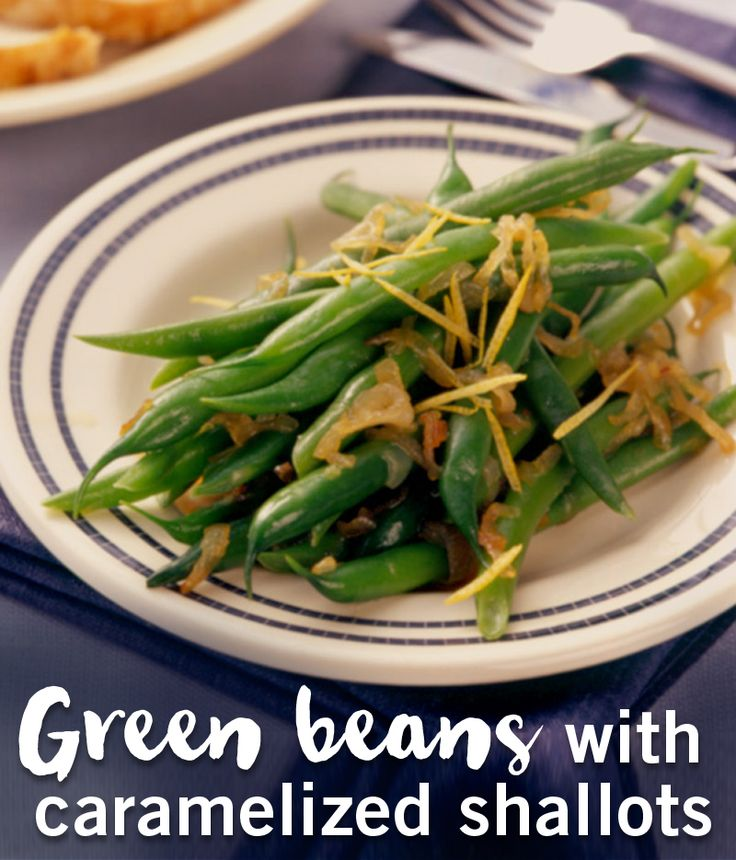 Green beans are the perfect holiday side dish. They're good for you and taste great!