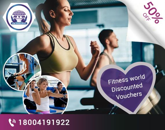 Grab the amazing opportunity this festive with exciting discounted vouchers from My Voucher World on all Fitness Classes by Dronacharya The Gym.