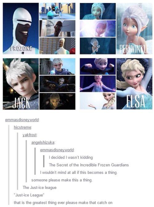 Secret of the Incredible Frozen Gaurdians