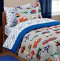 Car Truck Transportation bedding