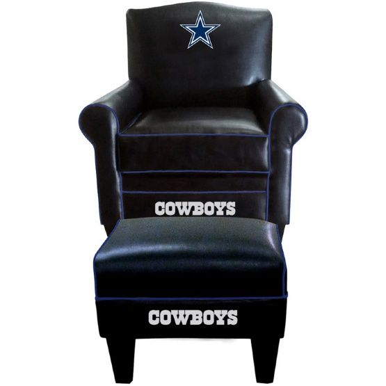 Imperial NFL Game Time Chair and Ottoman