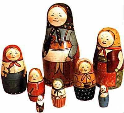 Historic (100yr old) Matryoshka dolls