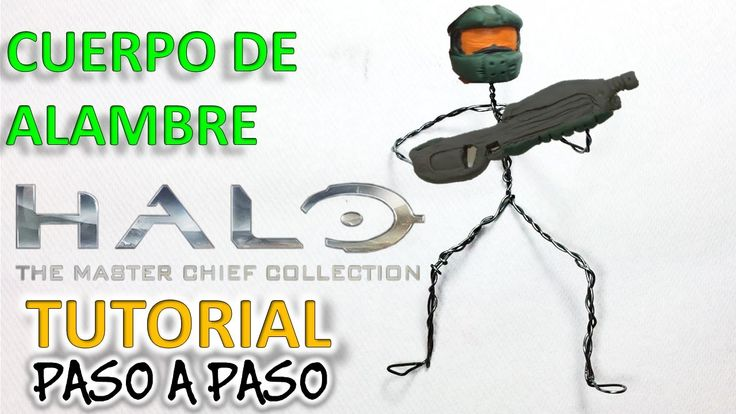 ✅COMO HACER AL JEFE MAESTRO/MASTER CHIEF DE PLASTILINA 1-3 ✅ MI MUNDO DE PLASTILINA - YouTube