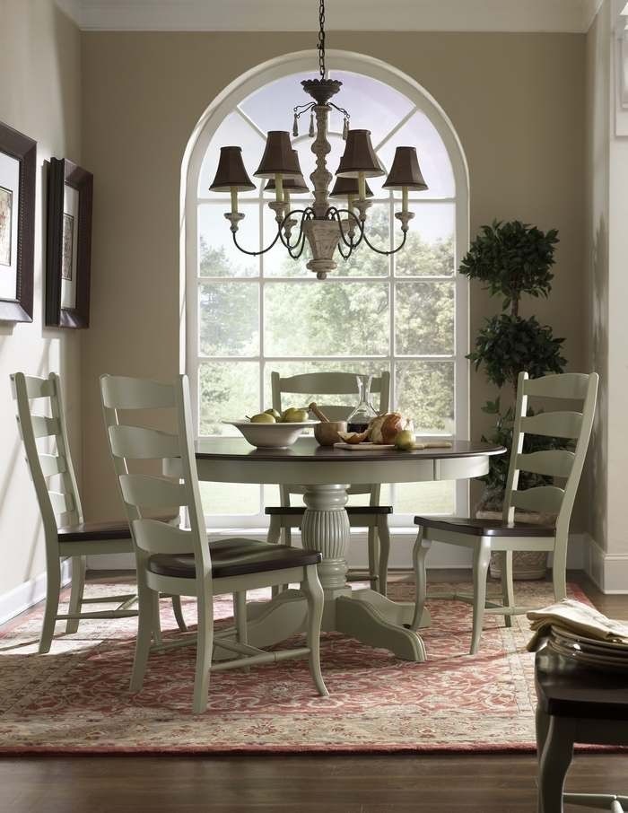 We Can Match Wall Unit To The Wood Finish Top Ladderback Dining Room Set Available At Kalin Home Furnishings