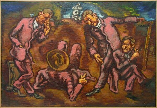 Vilhelm Lundstrøm. De Fire (Hommage aux peintres artistes).