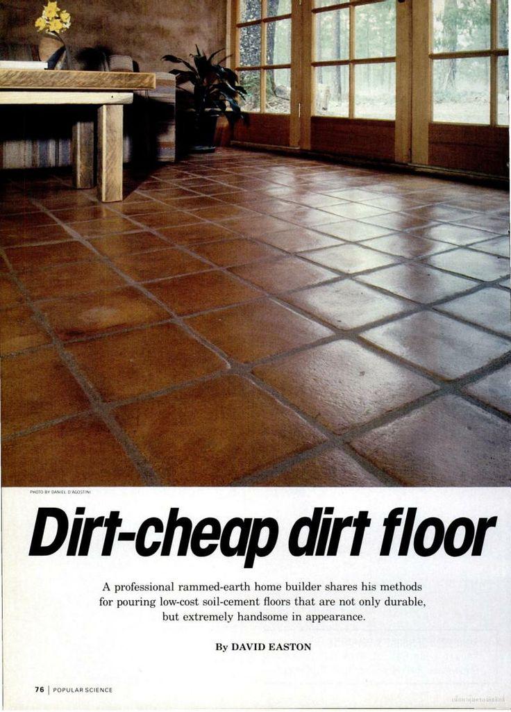 Concrete Flooring Ideas On A Budget : Best cheap flooring ideas on pinterest