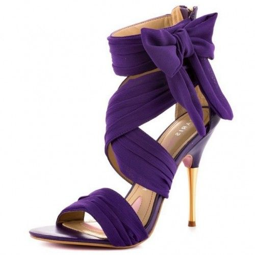 Amazing Purple Wedding Shoes