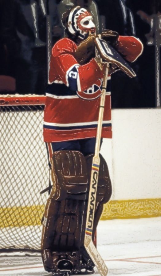 Montreal Canadians. Ken Dryden..... my ultimate hero
