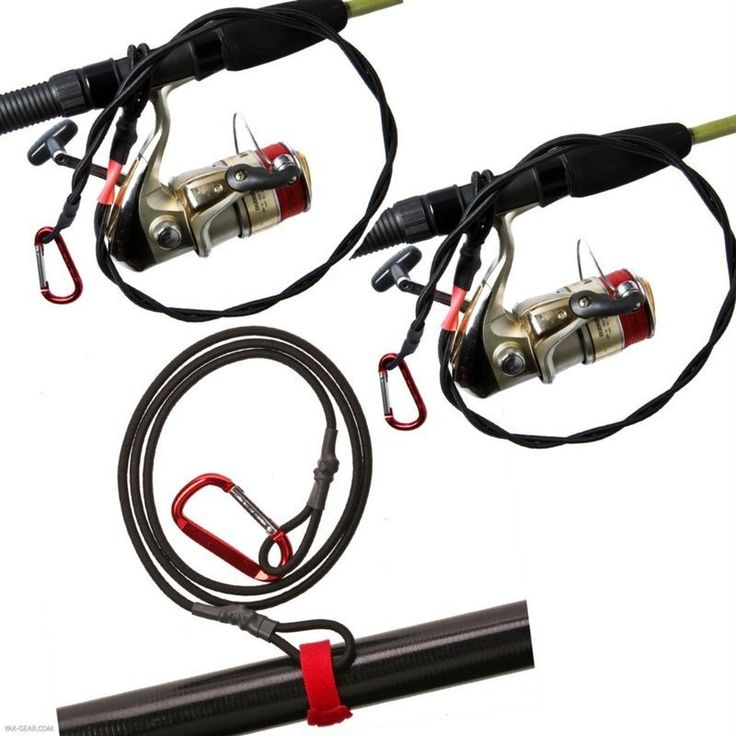 Kayak fishing Leashes.  Rod and paddle leashes for Kayak fishing gear http://www.kayakfishingfever.com/Three-Leash-Combo-Kit-PL40-2xFP32.htm   Don't let your stuff sink to the bottom