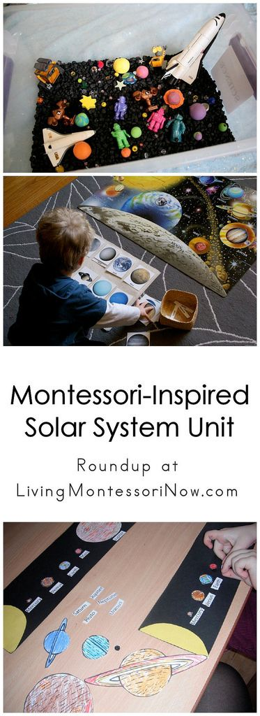 Montessori-Inspired Solar System Unit read muddle puddle and rocket banana snack