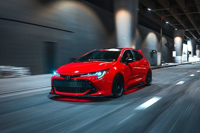 2019 Toyota Corolla Xse Red Light Special In 2020 Toyota Corolla Hatchback Corolla Hatchback Toyota Corolla