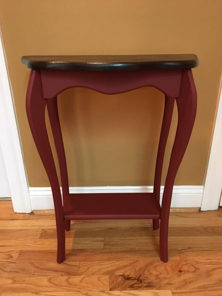Wonderful Deb Hicks Used Rustic Red Paint And Espresso No Pain Gel Stain On This Cute  Little