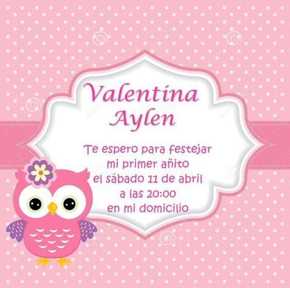 Tarjeta de cumpleaños, rosa pastel, más búho valentina aylen u2665 tarjetita Pinterest Pastel