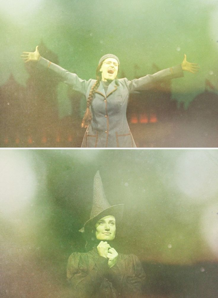 I'm the other daughter; Elphaba. I'm beautifully tragic.
