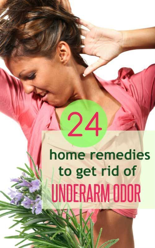 how to stop armpit odor without deodorant