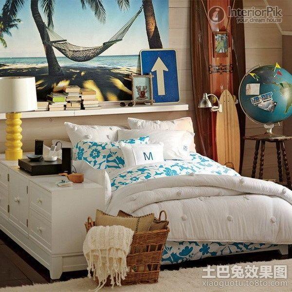 image result for hawaiian themed bedroom