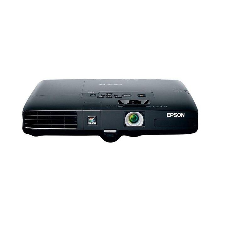 Epson PowerLite 1751 Portable 2600 Lumens 1024 X 768 XGA LCD Projector V11H479120-F