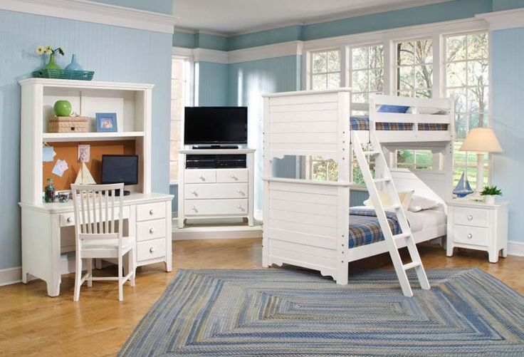 white bunk beds ideas for kids :p  for more home improvement ideas visit elliottspourhouse dot com  if u like it please share, repin, like :D