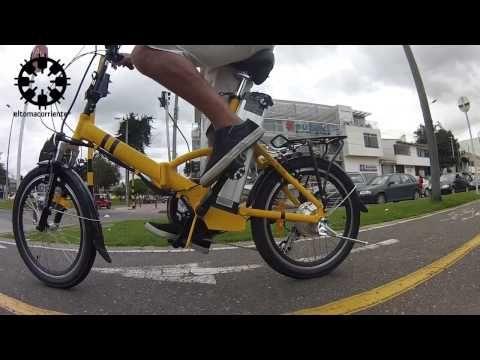 El Tomacorriente con sus bicicletas eléctricas usando la Drift HD Ghost!