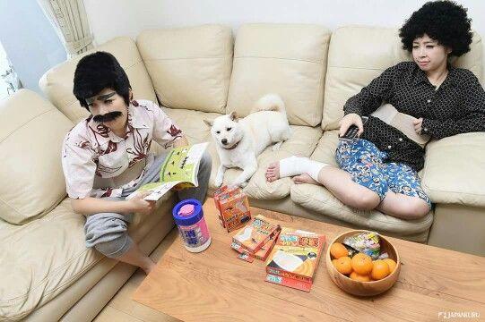 Thank you, Mom and Dad♡ ▶ FC far infrared supporter & belt by Hakujuji @ LAOX Venus Fort store #japankuru #japan #cooljapan #tokyo #100tokyo #harajuku #laox #odaiba #venusfort #supporter 