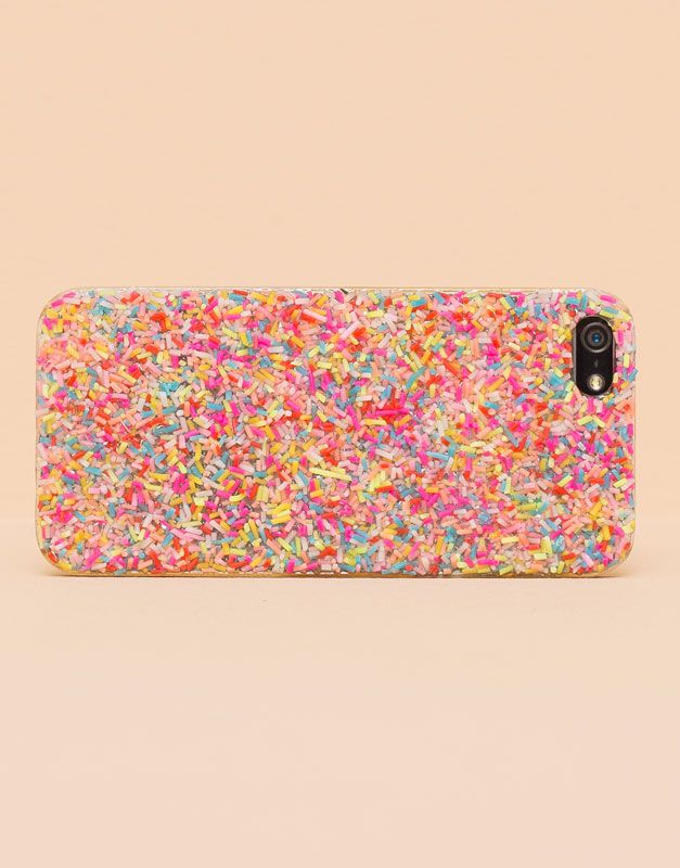 Pull&Bear - mujer - fundas móvil - funda móvil topping - rosa - 09993311-I2015