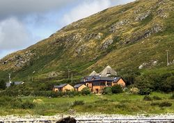 Dolphin Beach House   Ireland Co. Galway Connacht. What a spot! Bang on the edge of the Atlantic with views to die for and loads of activities - go fishing, hiking, riding or put your feet up