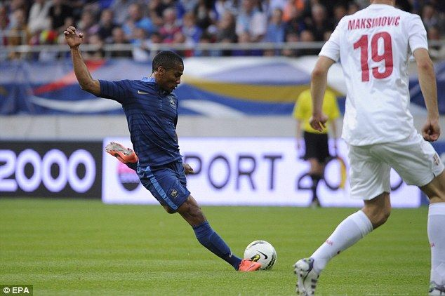 Some aerodynamism left from Florent Malouda.    France 2 – Serbia 0.