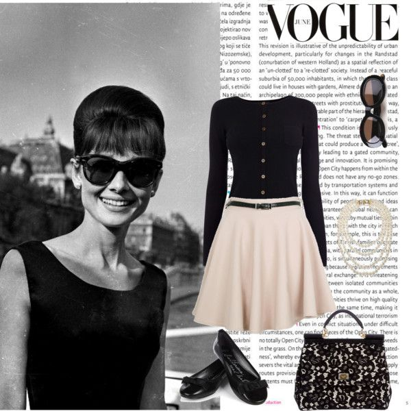 """Walking the Streets in Audrey Hepburn Style!"" by jesse1987 on Polyvore"