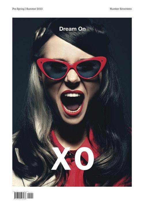 Hairstyle by Tomoyuki. Kate Nash in XO magazine