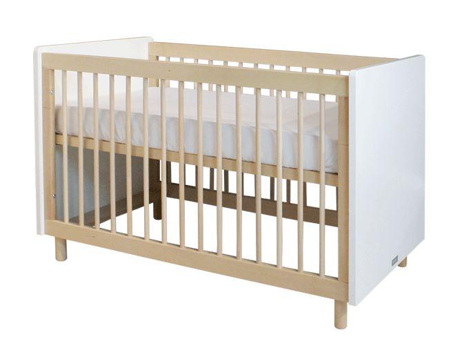 Bopita - Bed 60X120 Mirre Wit/Naturel, 159 EUR