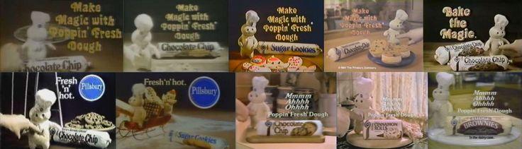 Late 1970's to early 1980's Pillsbury dough boy pokes.