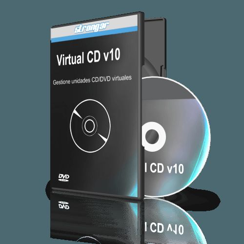 Virtual CD v10 Crack with Serial Number and Serial Key Full Version