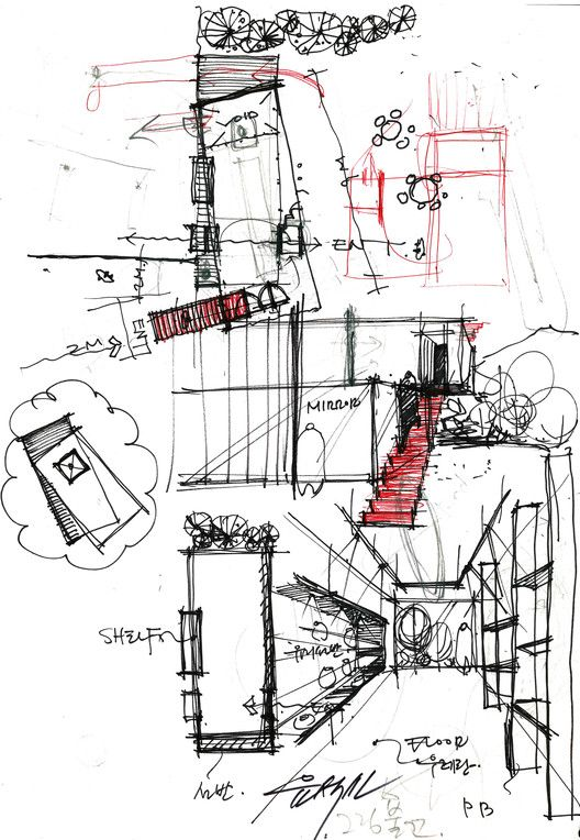 Jung Gil-Young Gallery Sketch
