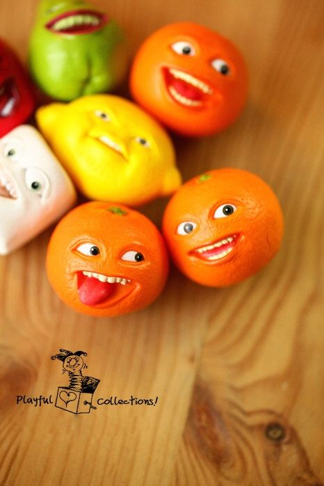 3pcs / Annoying Orange Figure/DIY Earring/Necklace/Phone Case/Port Dust Cover Craft Making/Doll House/Craft Stuff by JoeCityByJoe on Etsy https://www.etsy.com/listing/219530952/3pcs-annoying-orange-figurediy
