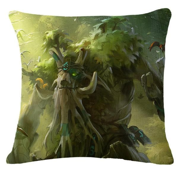 Dota 2 Treant Pillow Case