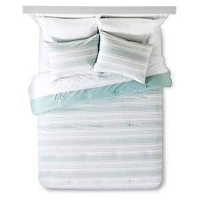 Stripe Texture Comforter Set - Threshold™ : Target