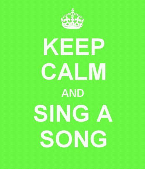 singing quotes   Life In A Nutshell • My new motto :)