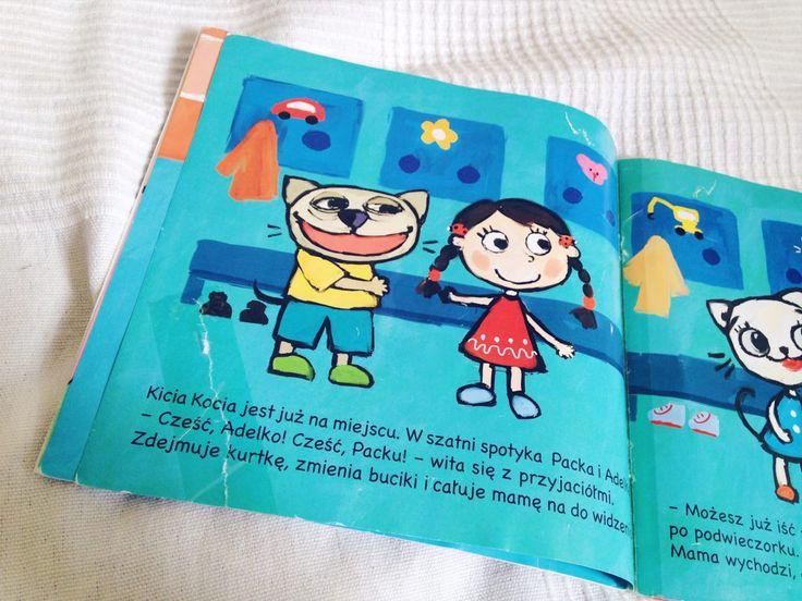 """""""Kicia Kocia"""", czyli fajna seria książek dla małych dzieci"""