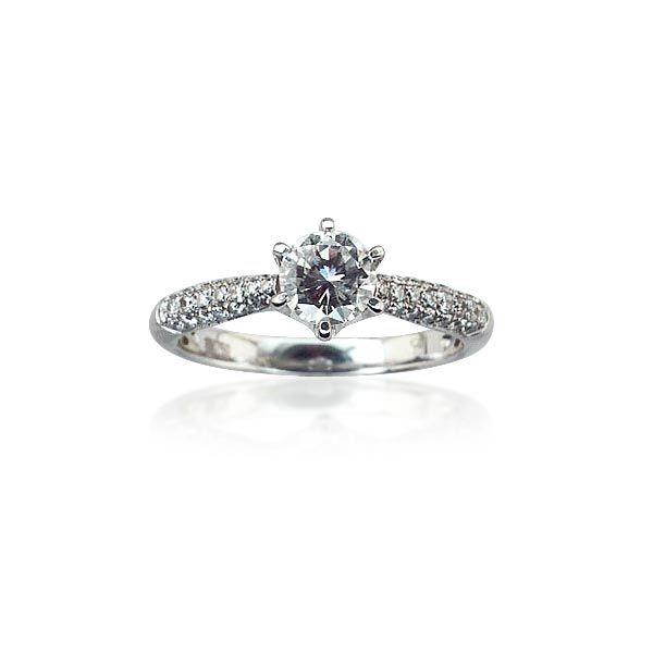 Opulenz in Vollendung. Mit dem soldenen Ring gönnen Sie sich puren Luxus. Solitär Diamantring 0,97ct Diamanten mit Pavee ausgefasst in Weissgold #Ring #Ringe kaufen schmuck #Solitär #Diamantring 0,97ct Diamanten mit Pavee ausgefasst in Weissgold #verlobungsringe