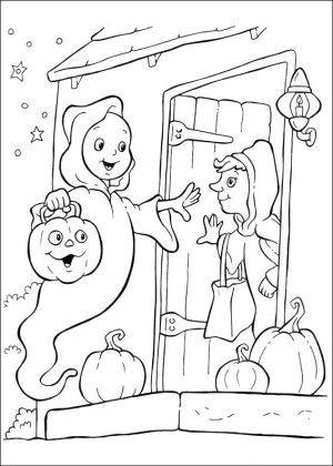 27 besten Casper coloring book Bilder auf Pinterest | Malbücher ...