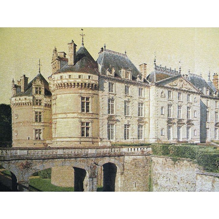 Le Lude Castle European Wall Hanging Tapestry Spanish