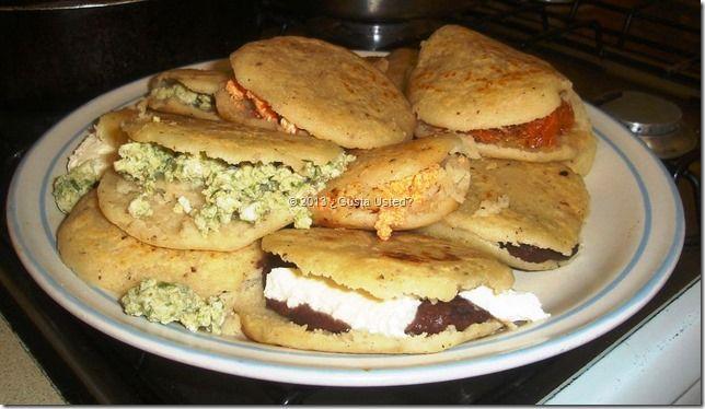 Bocoles, gorditas de manteca #recipe #mexicanfood Del blog Gusta UstedMexican Food, Comida Caseras, Auténtica Comida, Gorditas De