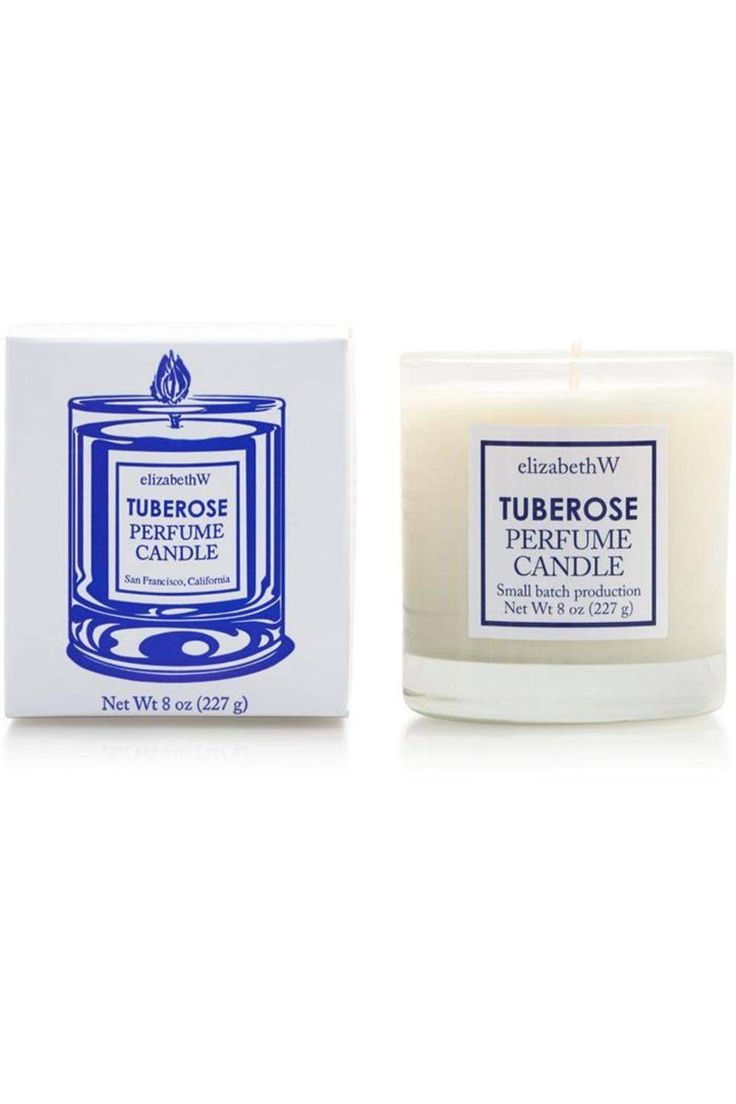 Bring the wonderful fragrance of Tuberose into your home with this beautiful candle poured in glass. This candle is hand-poured with 100% renewable soy (vegetable) wax and has a paper core wick, meaning it will provide a cleaner burn with a pure fragrance. The elizabethW scent of Tuberose is a compelling and lasting floral scent; both classic and re-imagined. The fragrance is richly sweet, with a heady aroma, accented by gardenia, jasmine, warm amber, and orange flower. Each candle includes…