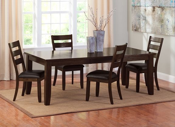 Abaco dining room collection value city furniture table for P table value