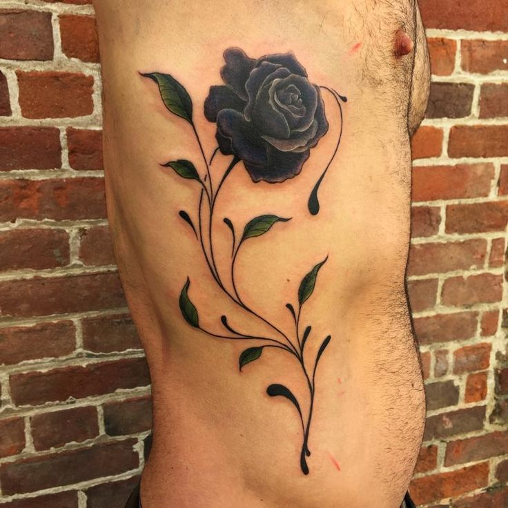 Nic LeBrun - Black Rose Tattoo