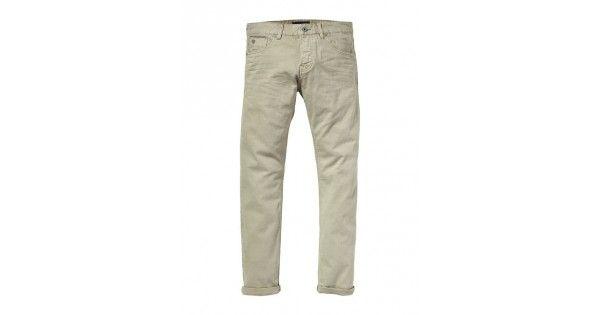 Παντελόνι με κουμπιάσε regular slim γραμμή Scotch & Soda. Σύνθεση 98% cotton και 2% pol.e-funky.gr