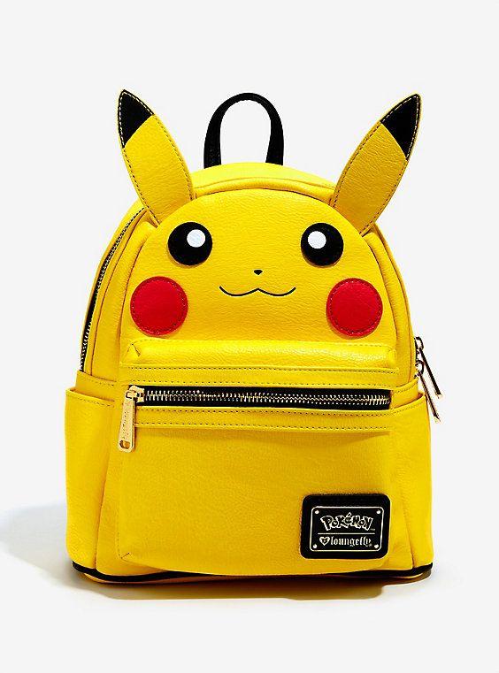 Loungefly Pokémon Pikachu Figural Mini Backpack in 2018  cf1b063cde3c5
